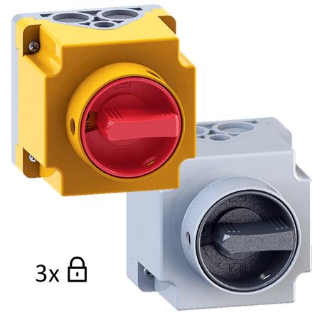 Interruptores bloqueáveis