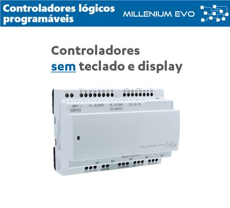 PLC's sem teclado e display