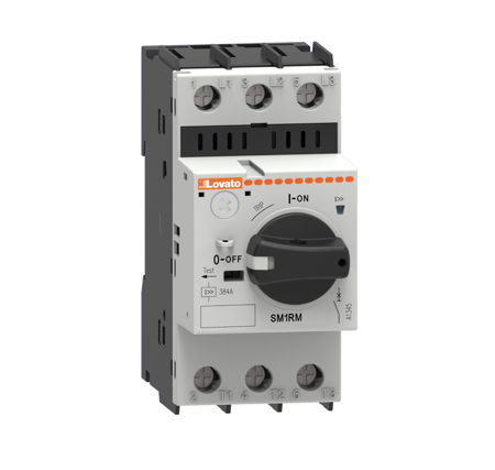 SM1RM, com seletor rotativo ON-OFF