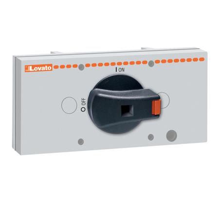 Encravamento mecânico p /interruptores 6 e 8 pólos