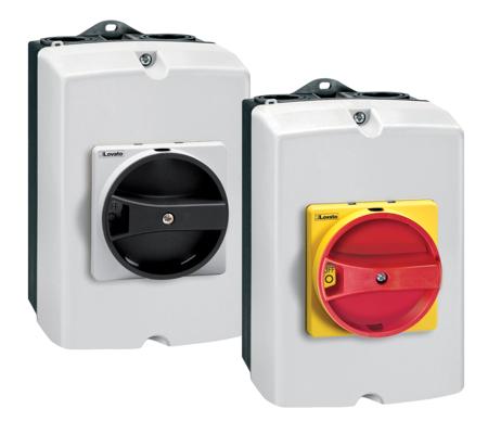 GAZ…DT - Caixa plástica IP65