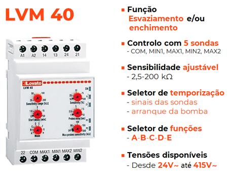 Multifunção (controlo com 5 sondas)