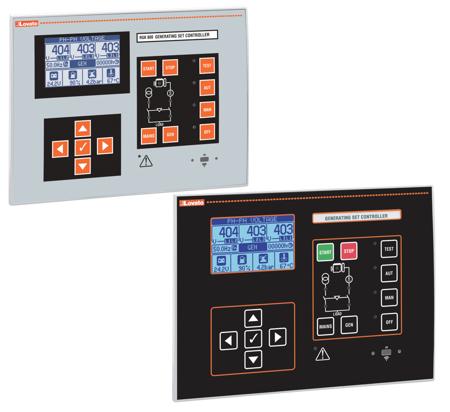 RGK600...800 - Controlo de geradores alternativos à rede normal (AMF)