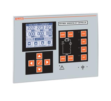 RGK900 - Controlo de paralelo e partilha de carga