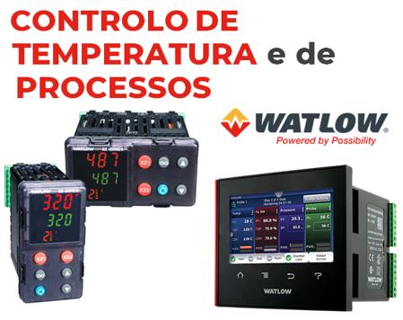 Controlo de temperatura e de processos