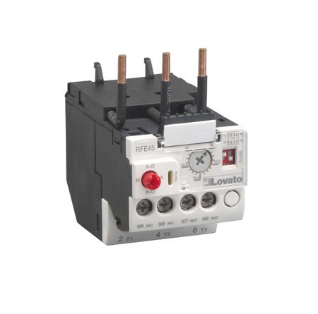 RFE45 - RESET manual ou automático